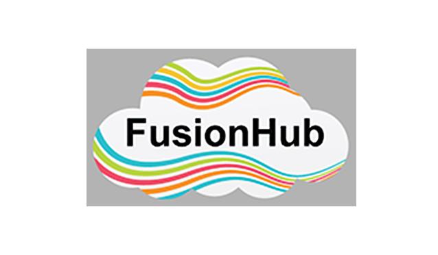 FusionHub logo