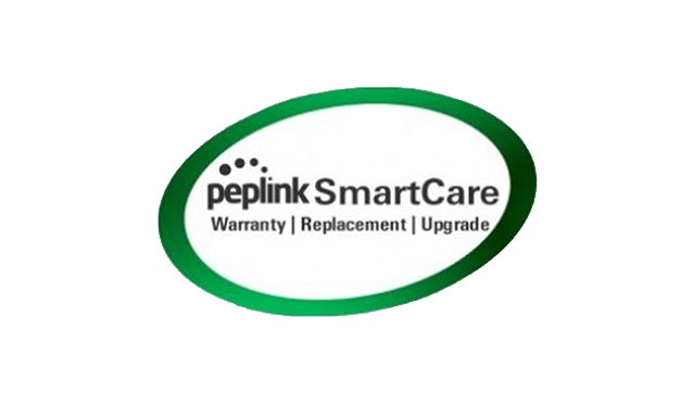 peplink smart care - warranty, replacement, upgrade logo