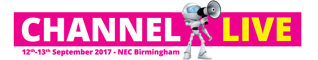 Channel Live - 12th-13th September 2017 - NEC Birmingham with a robot with a speaker phone on banner